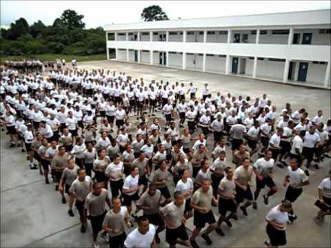 Treinamento físico no CFAP do Rio de Janeiro