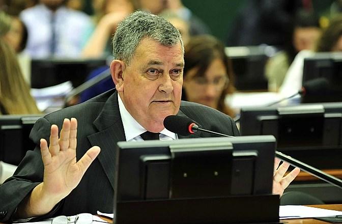 O deputado Arnaldo Faria de Sá (PTB-SP), cujo voto no Conselho de Ética é uma incógnita