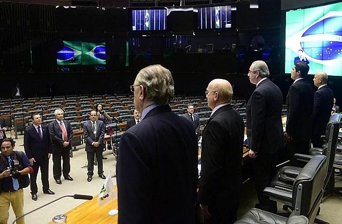 Sessão em homenagem ao aniversário de 50 anos do PMDB
