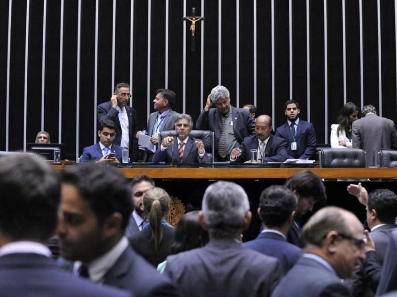 Sessão do plenário da Câmara