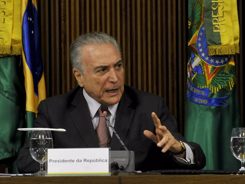Congresso anailisa PEC do teto de gastos, uma das principais propostas do presidente Michel Temer (PMDB)