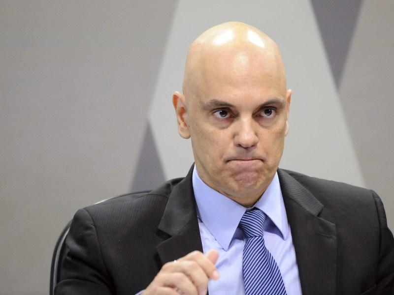 O ministro da Justiça licenciado, Alexandre de Moraes