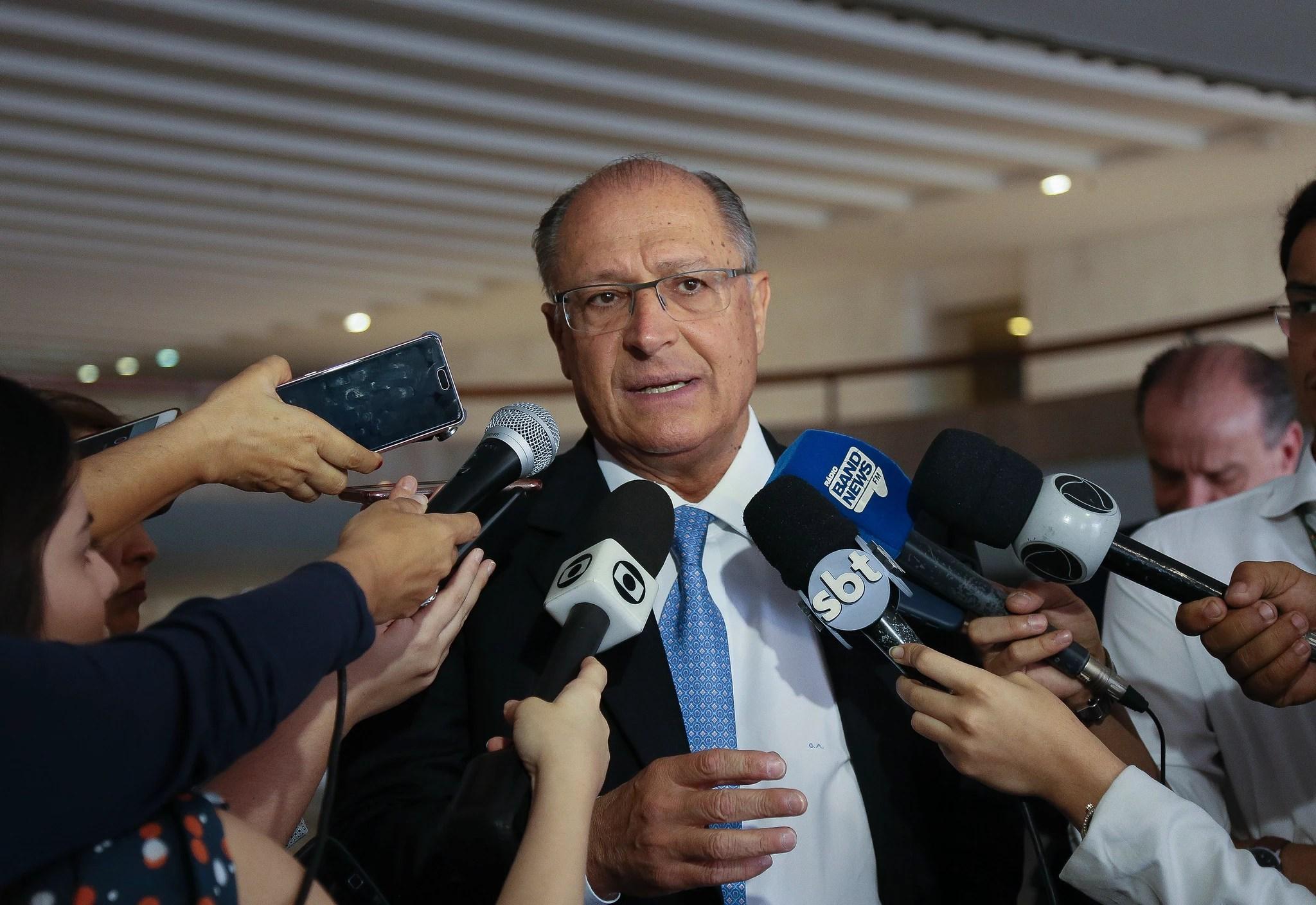 O ex-governador de São Paulo, Geraldo Alckmin, vai concorrer ao Planalto pela segunda vez