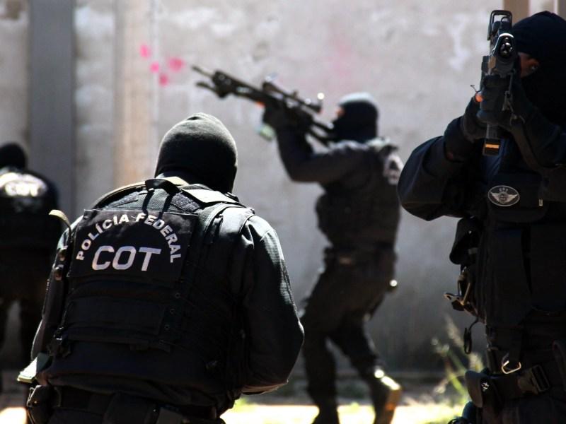 Agentes do Comando de Operações Táticas, da Polícia Federal: efetivo da corporação tem sido um dos temas abordados pelos candidatos