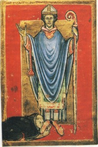 bisschop 12e eeuw