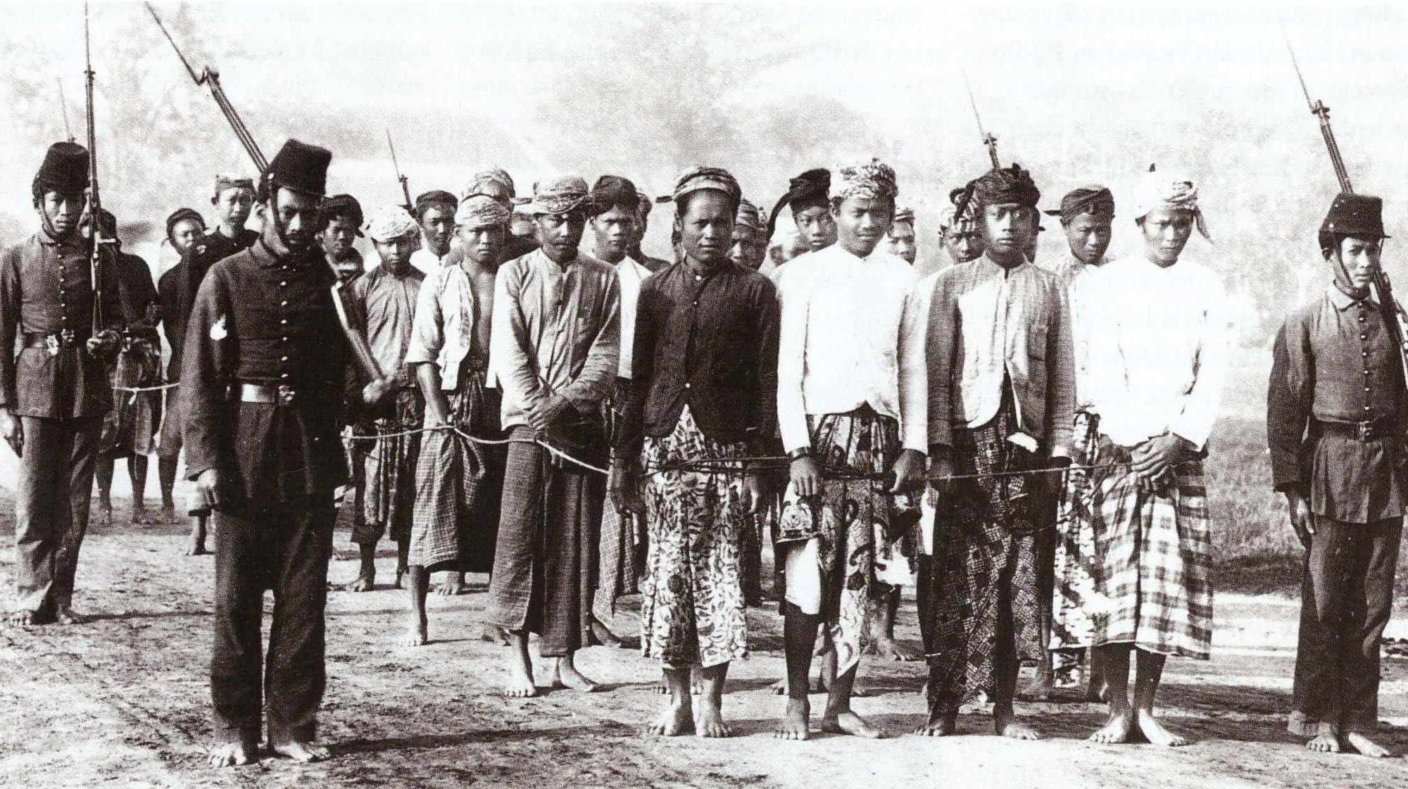 dwangarbeiders Indonesië