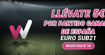 5€ apuestas gratis España