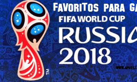 Favoritos para ganar Mundial Rusia 2018