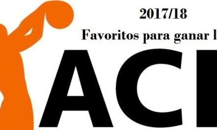 Favoritos apuestas ganador liga ACB 2017-2018