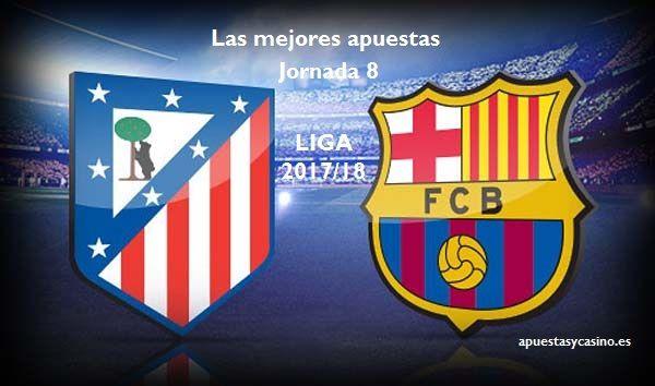 Apuestas Atlético-Barcelona, jornada 8El primer partidazo de liga en el Metropolitano