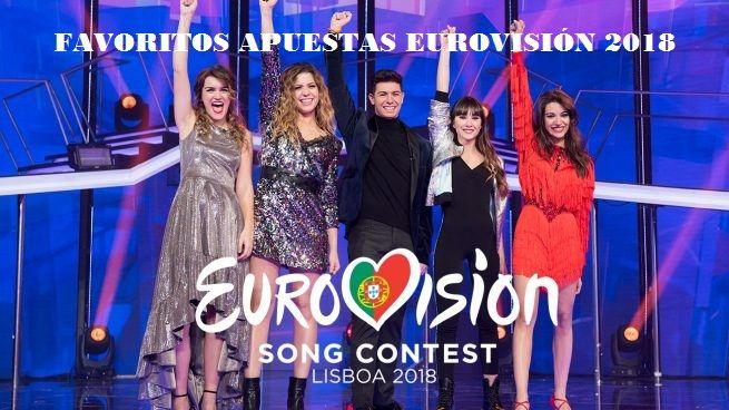 Favoritos para ganar Eurovisión 2018