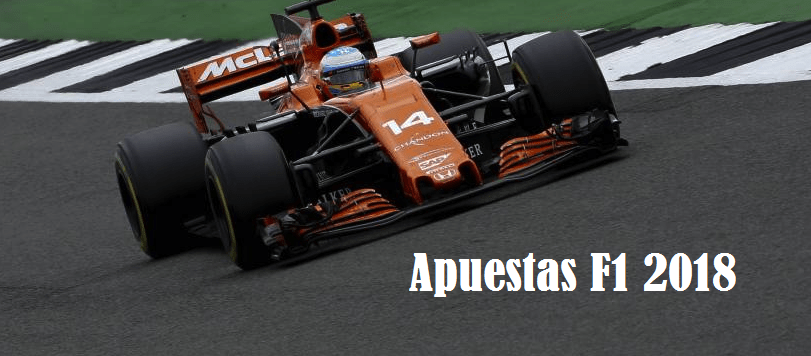 Favoritos apuestas Fórmula 1 2018