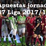 Pronósticos jornada 37 Liga 2018