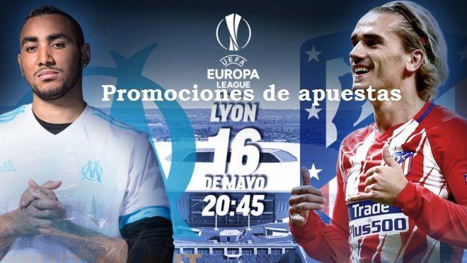 Promociones apuestas final Europa League 2018