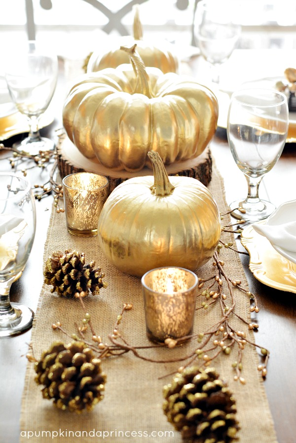 Fall Thanksgiving Tablescape
