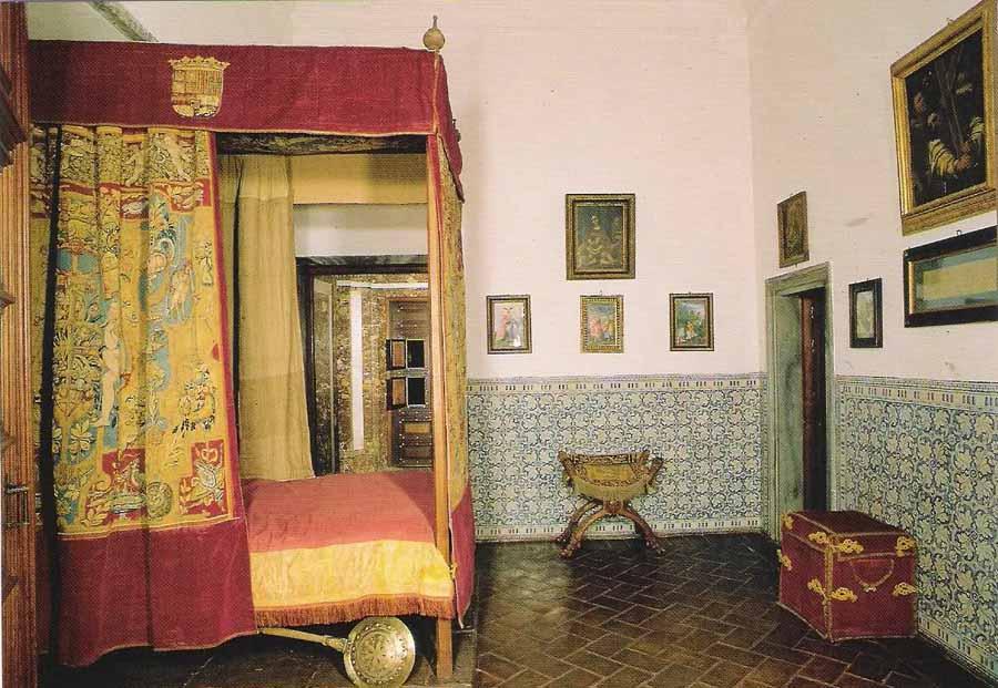 Resultado de imagen de Alcoba del Rey en El escorial. Felipe II.