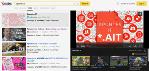 Buscador Yandex - Video