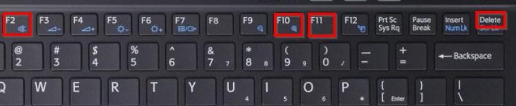 Menú teclas acceder BIOS
