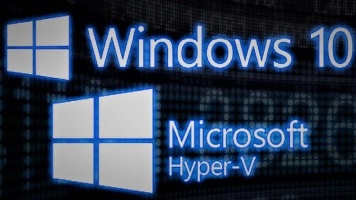Como activar Hyper-V en Windows 10