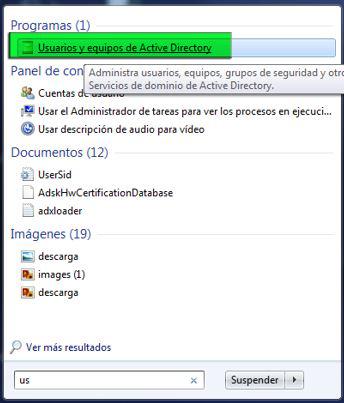 usuarios active directory