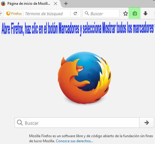 Cómo importar tu archivo de marcadores de Google Chrome en Firefox