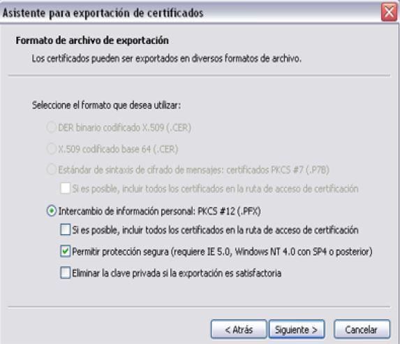 Firma digital exportar Importar_6