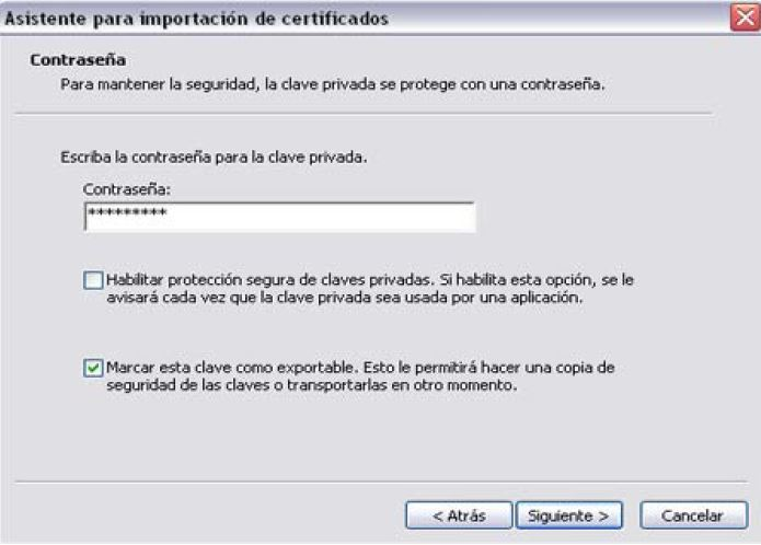 Firma digital exportar Importar_9
