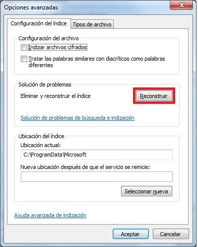 Cómo resolver problemas con la búsqueda en Outlook_Captura6