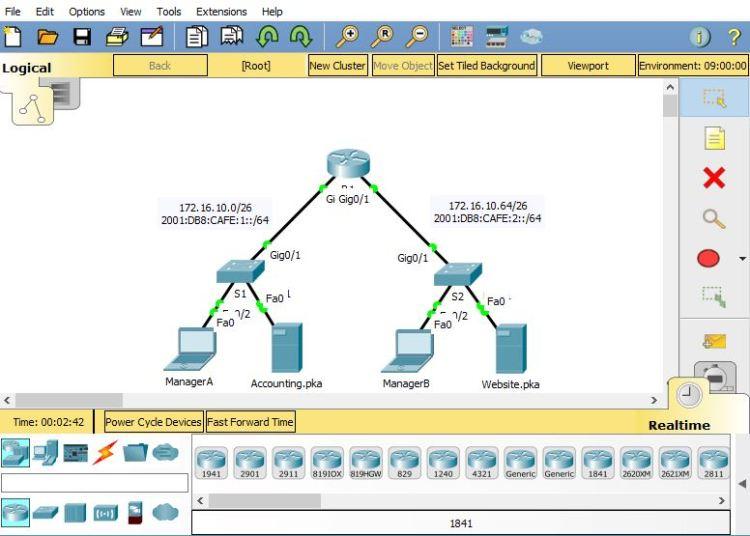 Packet Tracer para emulación de redes informáticas