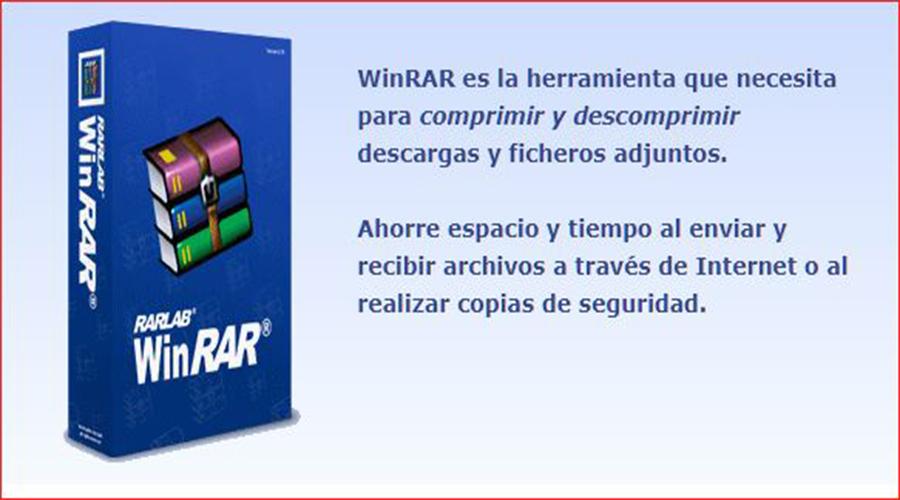 Instalar y activar Winrar