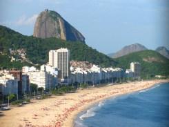 Morro Pan de Azúcar y playa de Copacabana