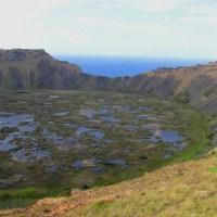 Ascenso al volcán Rano Kau
