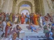 La Escuela de Atenas de Raffaello