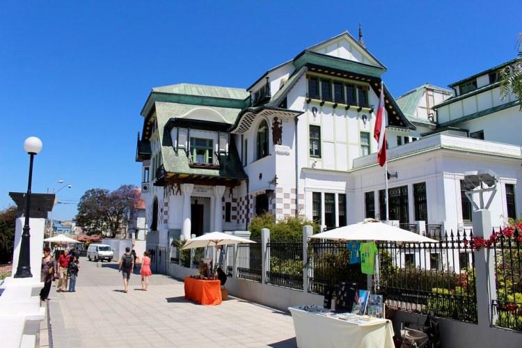 Paseo Yogoslavo y Palacio Baburizza, cerro Alegre