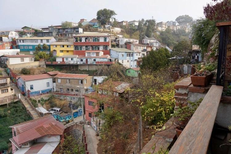 Vista al cerro Cárcel desde el Hotel Cirilo Armstrong