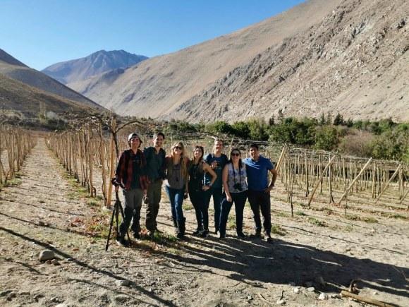 Agrupación Chilena de Blogueros de Viaje en Cavas del Valle