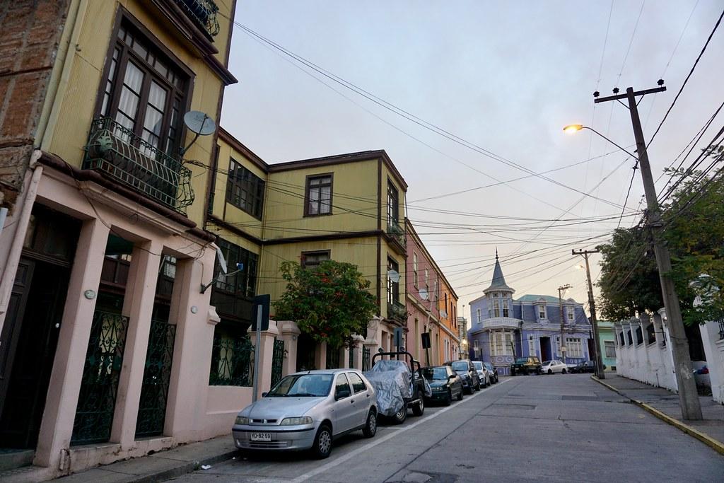 Calle Capitán Suárez, cerro Artillería