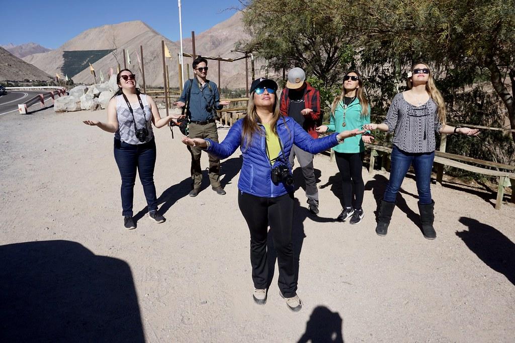 Ecoturismo La Serena y blogueros de viaje en Paihuano, Valle de Elqui