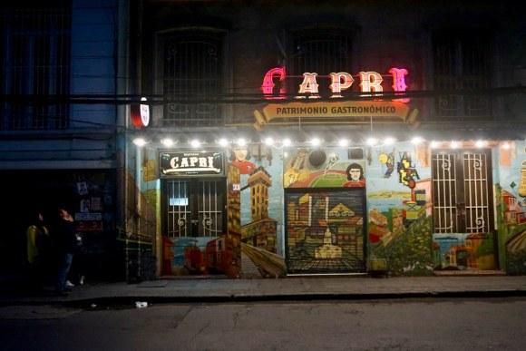 Restorán Capri