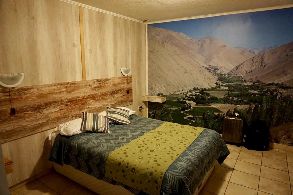 Habitación en el Hostal de Valle de Elqui