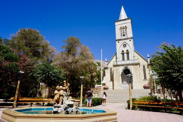 Iglesia Nuestra Señora del Rosario, Pisco Elqui