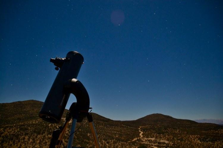 Telescopio Valle de Elqui. Fotografía de Francisco Carmona.