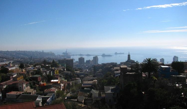 Valparaíso desde La Sebastiana