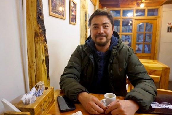 Felipe Muñoz, secretario de Barrio Puerto AG