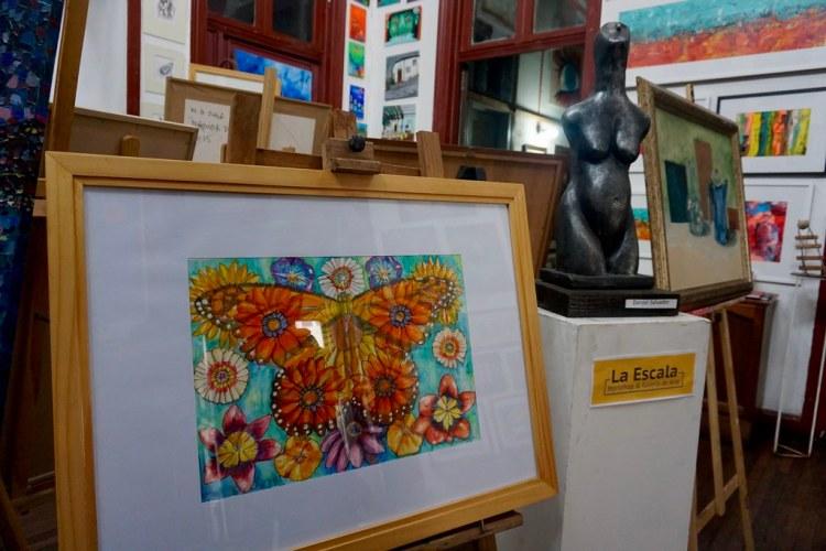 Mariposa Monarca en Galería La Escala