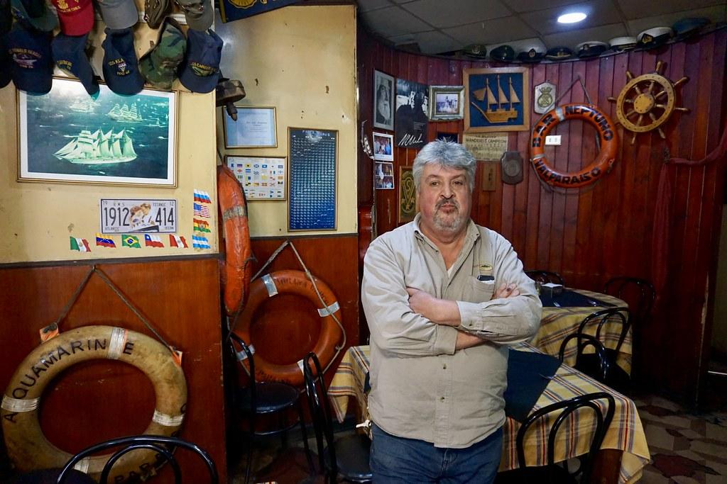 Ricardo Contreras, Bar Neptuno