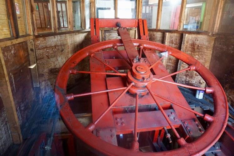 Mecanismo ascensor Artillería