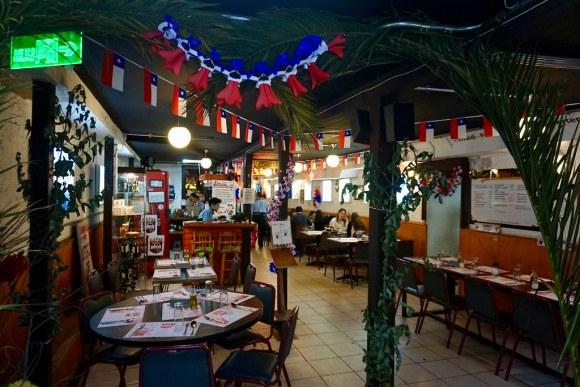 Restorán Capri se viste de Fiestas Patrias
