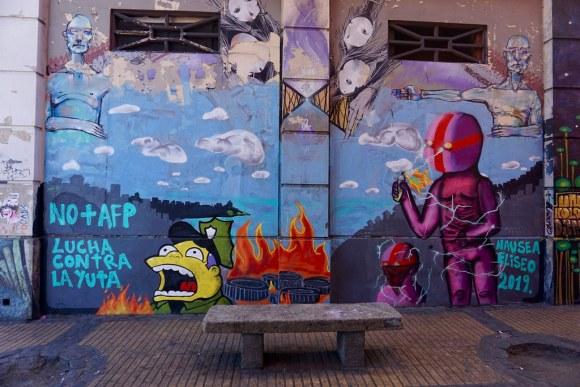 Mural en el exterior del Sindicato de Estibadores, Barrio Puerto