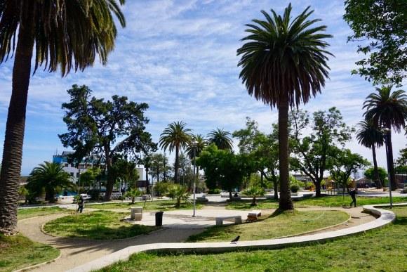 Plaza de la Conquista, cerro Los Placeres